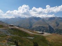 Mountainview at Valmenier Stock Photo
