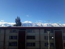Mountais nevado foto de stock royalty free