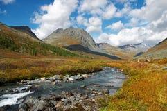 mountais river obraz royalty free