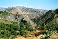 Mountanes de Arménia. Foto de Stock Royalty Free