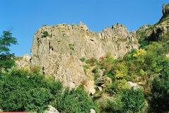 Mountanes de Armenia. Fotos de archivo libres de regalías