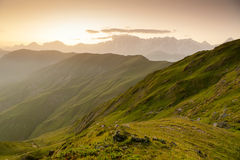 Mountanious landscape Stock Photography