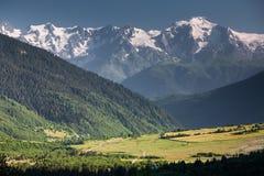 Mountanious landscape Stock Photography