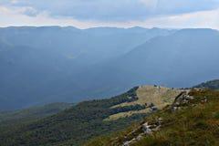 Mountauns in de Krim Stock Foto