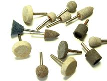 Mounted Abrasives Royalty Free Stock Images