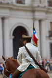 Mounted Carabinera Stock Images