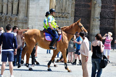 Mounted Gendarmes - 01 stock photography