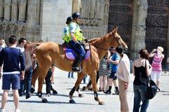 Mounted Gendarmes - 01 Stock Photography