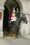 Mounted guardsman Royalty Free Stock Image