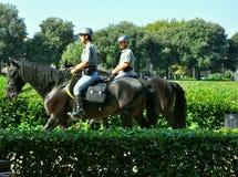 Mounted Italian policemen Royalty Free Stock Photography