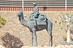 Mounted Police Camel Memorial Stock Image