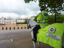 Mounted Police. London Child Protection Stock Photography