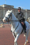 Buckingham Palace Police Woman Royalty Free Stock Image