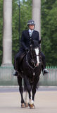 Mounted police. During trooping the colour London England Stock Images