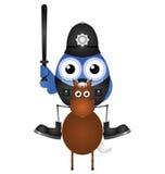 Mounted policeman Royalty Free Stock Image