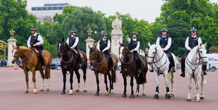 Mounted Policemen Royalty Free Stock Images