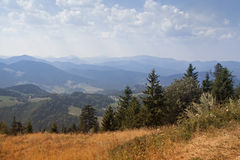 Mountens landscape Stock Photography