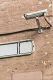 Mounter камеры слежения на стене Стоковое Изображение