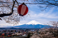 Mountet Fuji Arkivbild