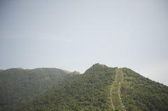 mountian深圳陡峭的线索 库存照片