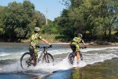 Mountian Bike Race Stock Photos