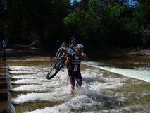 Mountian Bike Race Royalty Free Stock Photo