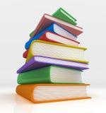 Mountian des livres Photo libre de droits