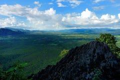 Mountian landskap Fotografering för Bildbyråer
