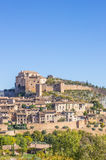 Mountian village Alquezar in the Pyrenees Royalty Free Stock Photography