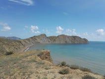 Mountians Black Sea royaltyfri bild