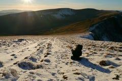 Mountians-Wanderer Lizenzfreie Stockfotografie