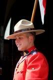 Mountie canadiense Imágenes de archivo libres de regalías