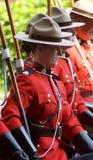 Mountie canadiense Foto de archivo