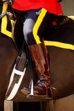Mounties canadenses reais Imagem de Stock