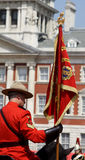 Mounties canadiens royaux Image stock