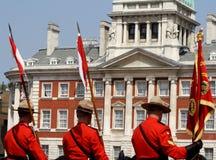 Mounties canadienses reales Fotos de archivo libres de regalías