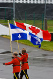 Mounties at Montreal Grand prix Stock Photo