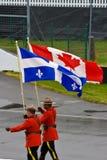 Mounties at Montreal Grand prix Stock Photo