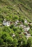 mountin村庄 图库摄影