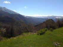 Mountine de Butiful en Arménie Lori Photos stock