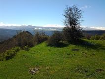 Mountine de Butiful en Arménie Lori Photographie stock libre de droits