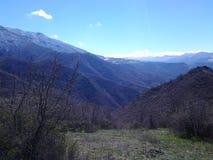 Mountine de Butiful en Armenia Lorri Fotos de archivo libres de regalías