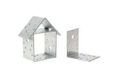 The mounting bracket construction Royalty Free Stock Photography