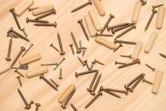 Mounting furniture stock image