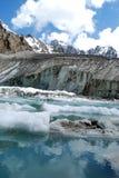 Mounting lake. Very beautiful lake in Kyrgyzstan stock photo
