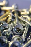 Mounting screws Royalty Free Stock Photography