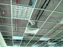 Mounting Suspended Ceiling Frame Stock Image