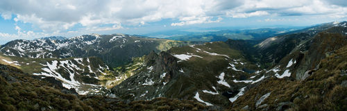 Mountinious landscape Stock Image