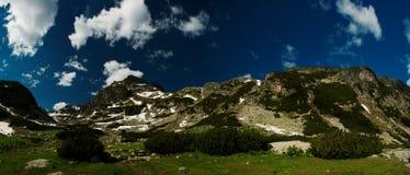 Mountinious landscape stock photo