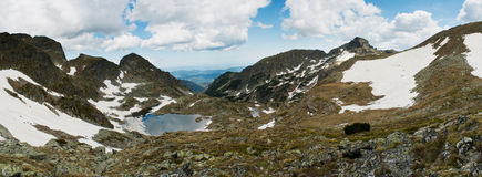 Mountinious landscape royalty free stock photo